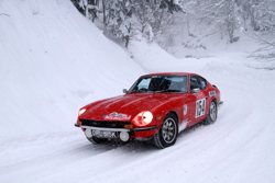 GaugePilot was used in the Datsun on the Historique Monte Carlo Rally